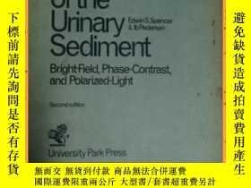 二手書博民逛書店英文書罕見hand atlas of the urinary sediment 手部尿沈渣圖譜Y16354 詳