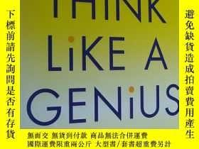 二手書博民逛書店Think罕見Like a Genius. Use Your C