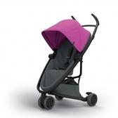 Quinny Zapp X FLEX 嬰兒手推車(三輪/獨立把手)-標準版(桃紅篷深灰布)贈提籃+雨罩[衛立兒生活館]