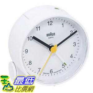 [104美國直購] 旅行鬧鐘 Braun BNC001 Alarm Clock 經典復刻 現代主義風格 白色$1588
