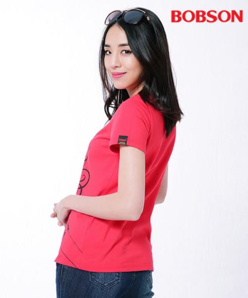 BOBSON 女款印圖T恤(26142-13)