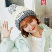 帽子女冬天潮韓國針織帽加絨秋冬季保暖韓版護耳帽休閒百搭毛線帽 - 風尚3C