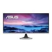 ASUS 華碩 MX34VQ 34吋曲面無邊框電競螢幕 (Qi 無線充電器 低藍光 不閃屏閃)