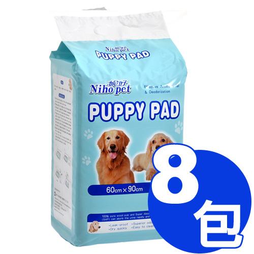 【寵物王國】Niho Pet妮好-強效吸水抗菌尿布60x90cm(20入) x8包超值組合 免運費(402056)