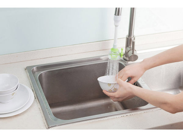 Qmishop 水龍頭篩檢程式防濺頭 節水器省水器【J1923】