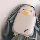 企鵝抱枕被子兩用辦公室暖手捂靠枕女生午休枕頭神器午睡毯子 【快速出貨】