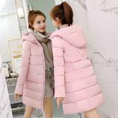棉衣女百搭韓版中長款棉服寬鬆加厚學生外套冬季軟妹棉襖