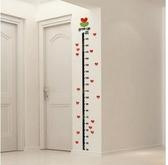 樹芽寶寶身高貼兒童房裝飾墻貼幼兒園嬰兒身高尺3d亞克力立體墻貼促銷好物