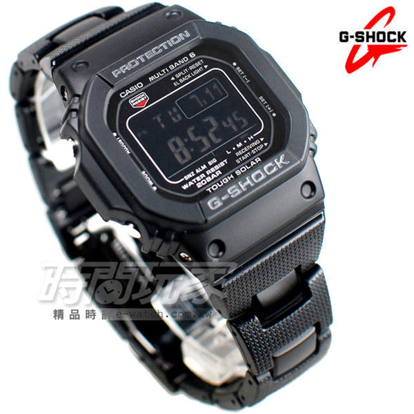 G-SHOCK GW-M5610BC-1太陽能電波錶 完美休閒 男錶 純正黑 電子錶 GW-M5610BC-1DR CASIO卡西歐