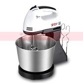 【美英歐規台灣110V】打蛋器電動家用攪拌機打奶油和面烘焙打蛋【全館免運】