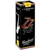 凱傑樂器 Vandoren ZZ Tenor Reeds  黑盒 次中音 竹片 2號