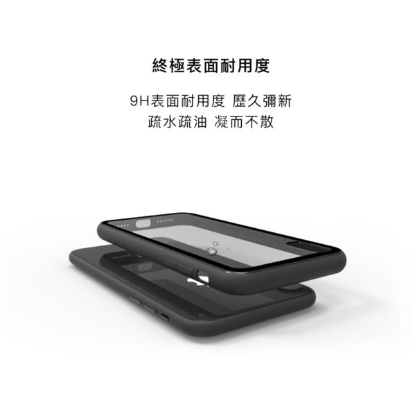 LINKASECLEAR 大猩猩 9H 奈米 玻璃機身 手機殼 玻璃殼 iPhone 7 / 8 / X