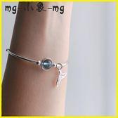 MG 草莓晶手鍊-手鍊女韓版簡約純銀個性水晶草莓晶甜美
