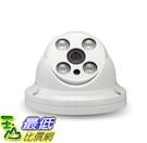 [106大陸直寄] 領防員 監控攝像頭 高清1200線安防攝像機 陣列紅外夜視半球探頭