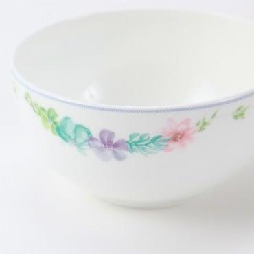 HOLA 綺語骨瓷飯碗11.5cm 大花