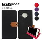 CITY BOSS 撞色混搭 十字紋/斜紋 小米 10T LITE MIUI 米柚 Xiaomi 手機套 磁扣皮套/保護套
