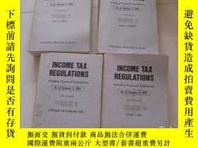 二手書博民逛書店INCOME罕見TAX REGULATIONS Including Proposed Regulations (A