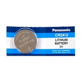 Panasonic 國際牌 鈕扣型鋰電池 1入 / 卡 CR2412
