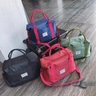 旅行包出差帆布手提包大容量行李袋健身便攜...