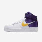 Nike Air Force 1 High 07 LV8 1 [BQ4591-101] 男鞋 運動 休閒 經典 白紫