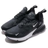 Nike 慢跑鞋 Wmns Air Max 270 SE 黑 白 大氣墊 大型後跟氣墊 舒適緩震 運動鞋 女鞋【PUMP306】 BV6669-031