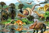 木質拼圖1000片成人拼圖減壓大型益智玩具恐龍世界【極簡生活】