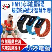 【免運+3期零利率】全新 IS愛思 HM18心率 血壓管理 觸控彩屏藍牙智慧手環 運動模式 IP67防水