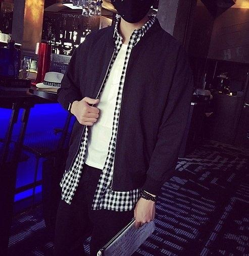 FIND 韓國 歐美印刷 字體 潮流 外套 夾克  PEASE