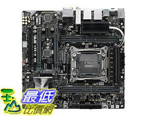 [105美國直購] 主機板 ASUS uATX X99-M WS dual PCI-E 3.0 x16 DDR4 USB 3.1 with Bluetooth /audio B012VOO490