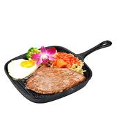 鑄鐵鍋-烤盤炒菜煎日本南部鐵器無油煙無塗層平底鍋66f1【時尚巴黎】