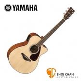 【缺貨】YAMAHA 山葉 FSX800C 可插電單板民謠吉他 雲杉木面板【FSX-800C】木吉他/原廠公司貨