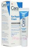 美國品牌 CeraVe Eye Repair Cream 玻尿酸靚亮修復眼霜 14.2g 原裝進口【彤彤小舖】