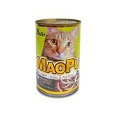 MAOPU 貓撲鮪魚+小魚干餐罐400g【愛買】