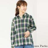 ❖ Hot item ❖ 格紋休閒襯衫 - Green Parks