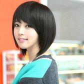 假髮(短髮)-氣質可愛學生頭斜瀏海女配件3色73fi13[時尚巴黎]