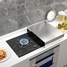 電磁爐底座 煤氣灶蓋板罩不銹鋼廚房置物架...