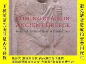 二手書博民逛書店Coming罕見of Age in Ancient Greece