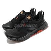 New Balance 野跑鞋 Hierro v6 寬楦 男 黑 橘紅 黃金大底 NB【ACS】 MTHIERK62E