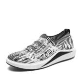 夏季彈力襪子鞋男韓版運動休閒鞋跑步鞋懶人板鞋網面布鞋透氣網鞋