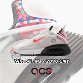 Nike 休閒鞋 Air Max 2090 CNY 白 紅 男鞋 氣墊 中國新年 運動鞋 【ACS】 DD8487-161
