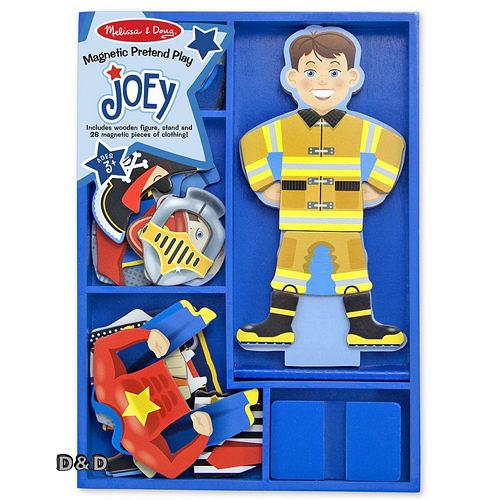 《 美國 Melissa & Doug 》木製磁鐵系列 - JOEY ╭★ JOYBUS歡樂寶貝