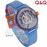 Q&Q SmileSolar mini冰淇淋款 日本機芯 010太陽能錶 藍莓雪酪 藍 女錶 防水手錶 學生錶 RP01J010Y