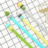 【BlueCat】開心太陽天多肉植物仙人掌水性筆 中性筆