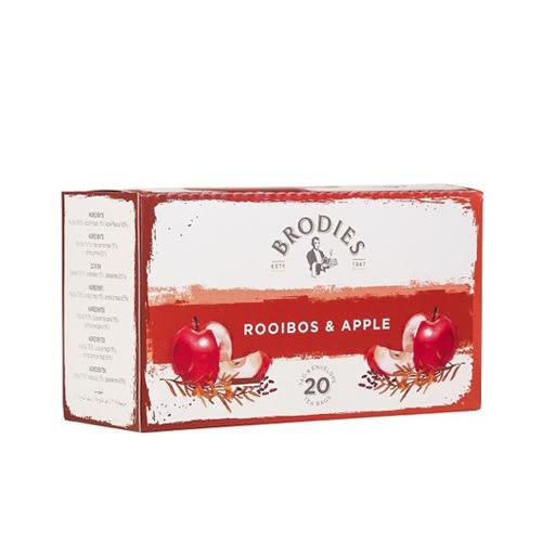 金時代書香咖啡 Brodies 蘇格蘭茶 風味茶包 蘋果國寶茶 Rooibos & Apples