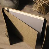棉麻中式雙開覆膜自粘式創意手工相薄