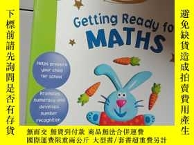 二手書博民逛書店getting罕見ready for mathsY12498