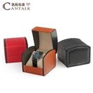 手錶盒 手錶盒高檔歐式男士PU皮質腕錶展示盒機械錶收納盒手錶禮盒包裝盒 智慧 618狂歡