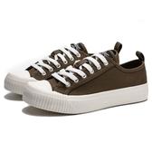 KANGOL 帆布 餅乾鞋 橄欖綠 休閒 女(布魯克林) 6952200173