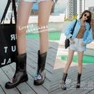 雨鞋女士時尚外穿中短筒雨靴膠鞋防水鞋防滑韓國耐磨可愛成人雨鞋 小時光生活館