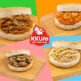 【紅龍免運組】香Q米漢堡12顆組(三杯雞/牛丼/蝦仁/洋菇豚/椒麻雞/雞肉飯)